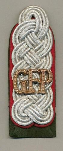 GFP Shoulder Straps