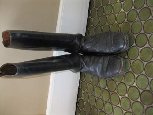 WW2 era officer boots?