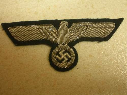 cloth insignia genuine ???