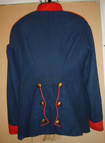 Maybe a pinned thread on Waffenrock tunics?