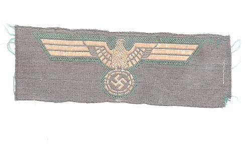KM Eagle unusual variation or fake