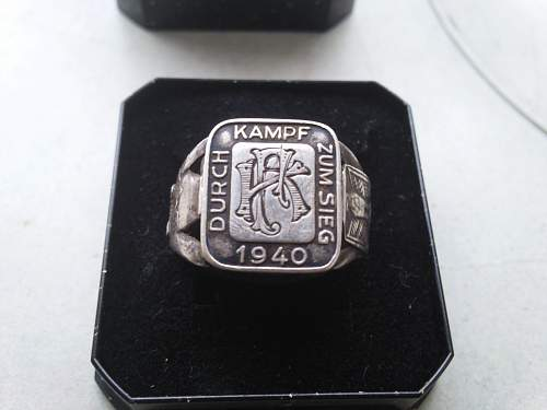 code in silver ring