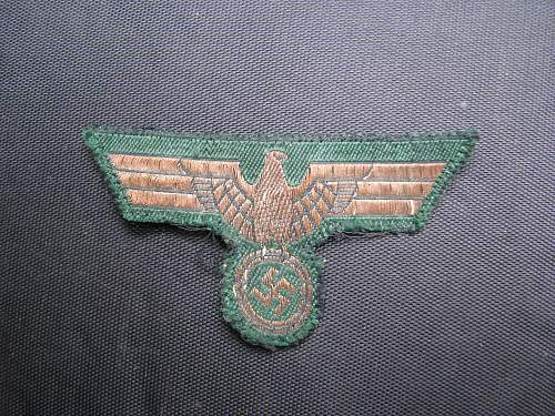 Wehrmacht Officers Eagles