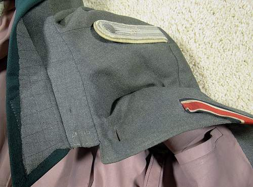 Questions & Opinions about this Heer Infantry Tunic & Breeches...