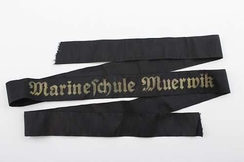 KM Cap Tally - Marineschule Muerwik
