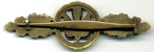 bomber badge?