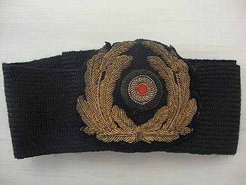 Kriegsmarine Cap Wreath and Cockade question
