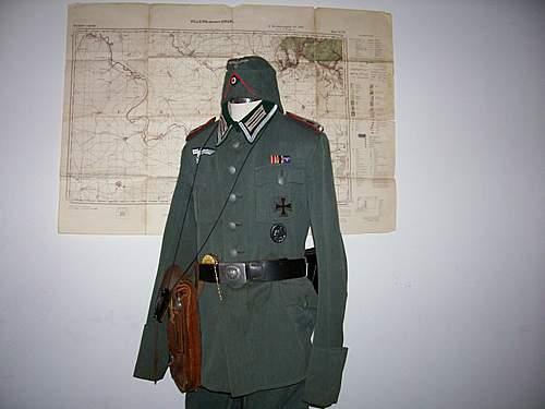 Heer Artillerie NCO display