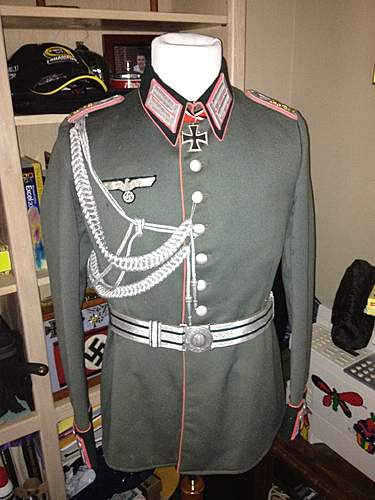 Panzer Officer Waffenrock Tunic