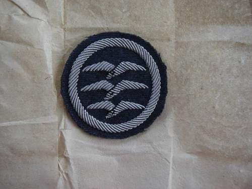 Luftwaffe cloth patch?