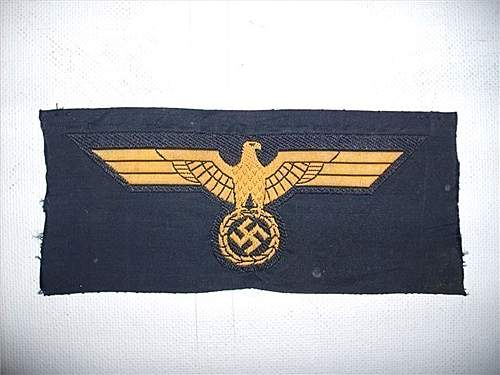 Kriegsmarine Breast Eagles for comment!