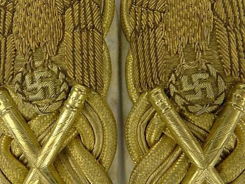 Reichsmarschall SHOULDER BOARDS REAL OR COPY?