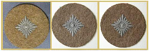 Click image for larger version.  Name:trop greatcoat rank patches.jpg Views:28 Size:292.4 KB ID:377872