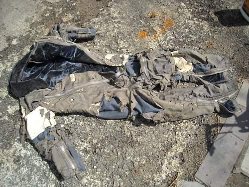 luftwaffe flight suit info
