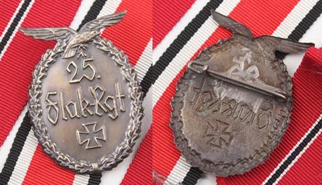 Flak regiment badge