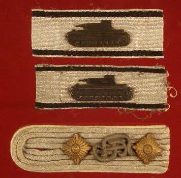 Tank destruction badge.
