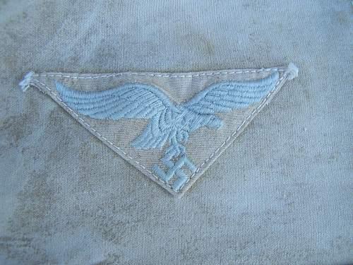 Luftwaffe snow camo