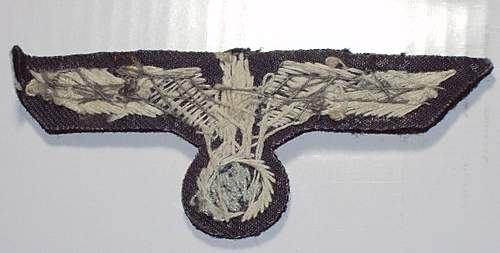Panzer Officer Breast Eagle