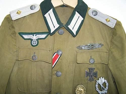 Combat Officer Display
