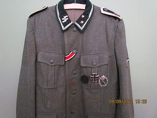 What's the rank on this tunic?