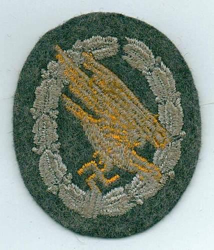 Luftwaffe patchs