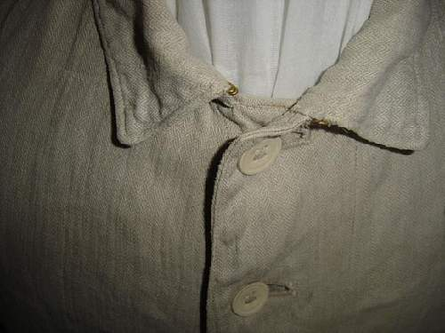 Question about wehrmacht hbt drill tunic