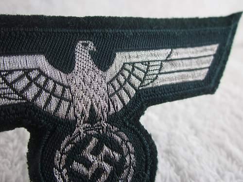 Heer Nco Flatwire Breast Eagle