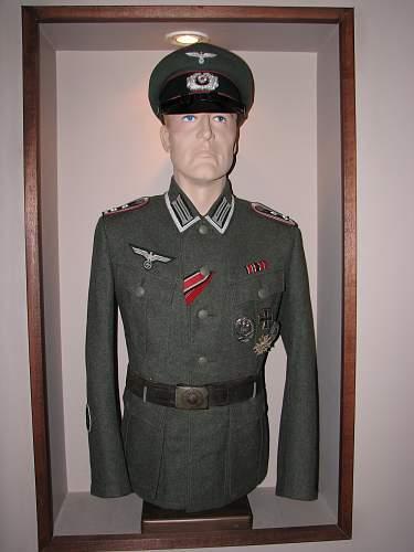 New NCO visor just arrived