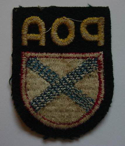 Russian Army of Liberation armshield