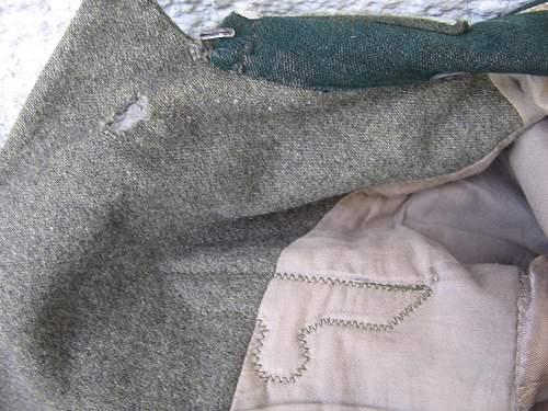 salty M36 and M43 tunics