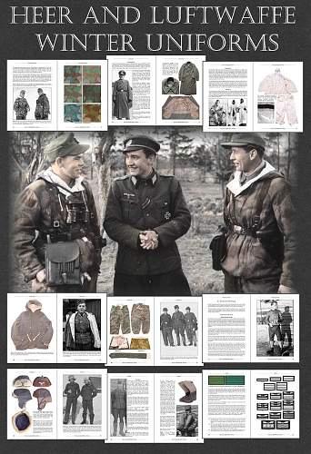"""""""Heer and Luftwaffe Winter Uniforms"""" Book announcement"""