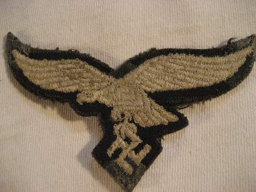 opinions on Luftwaffe breast eagle