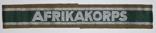 Click image for larger version.  Name:Afrikakorps cuff title..JPG Views:2804 Size:108.0 KB ID:4132