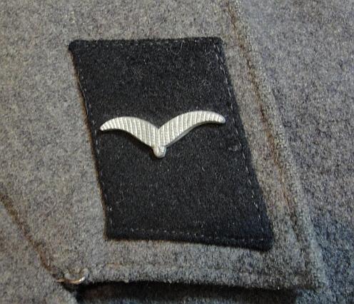 luffwaffe tunic with camp insignia