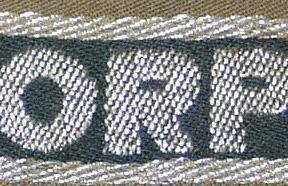 The Afrikakorps cuff title