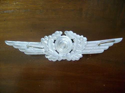 Luftwaffe Cap Badge...?