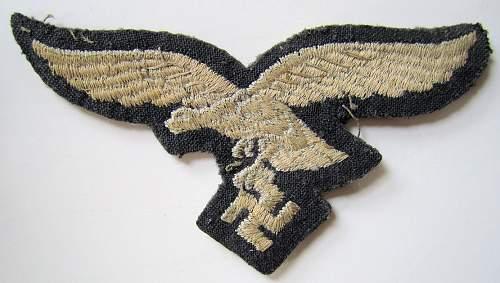Luftwaffe breast eagle