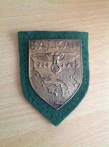 Balkan shield, bad feelings about this any ideas?