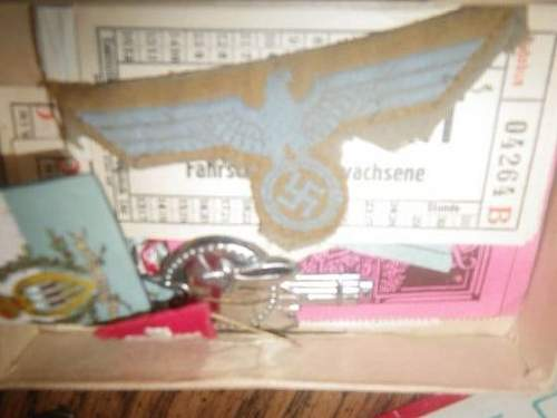Summer Afrika Korps breast EAGLE insignia...Opinions please.