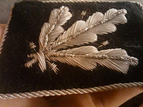 ribbon bars and eagle insignia for review