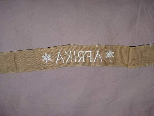 """""""Afrika"""" cuff title....."""