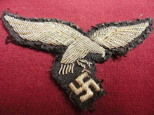 Cloth eagles for comment
