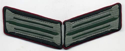Feldpostbote Collar Tabs