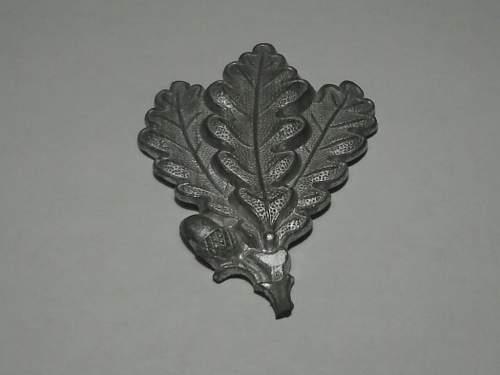Metallic Jaeger badge?