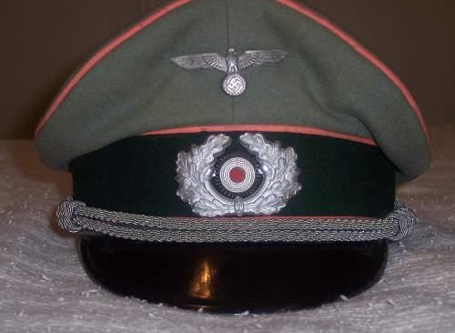 Panzer Officer Waffenrock Tunic