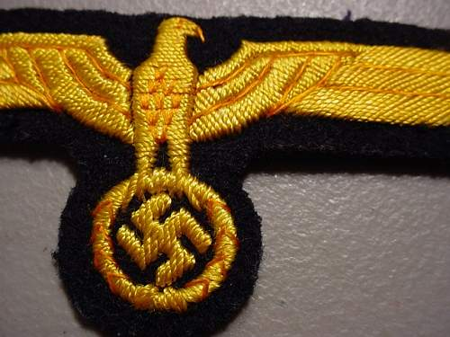 Kriegsmarine eagles for comment