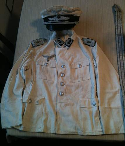 Click image for larger version.  Name:German Medals and Pins with Tunic and Hat 012.jpg Views:852 Size:204.8 KB ID:436854