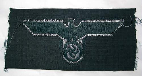 Heer enlisted mans breast eagle