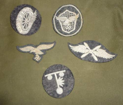 Luftwaffe Patches- help needed!