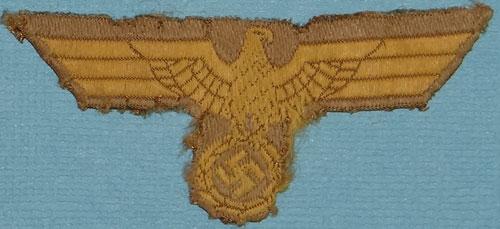 Tropical Kriegsmarine cap eagle for comment!